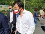 Il tour di Salvini tra valle Stura, nuovo ponte e piazza De Ferrari