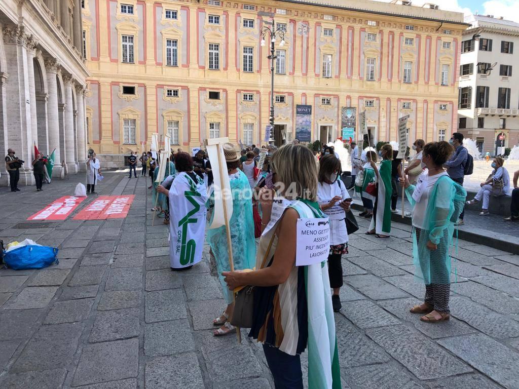 Manifestazione infermieri 25 giugno