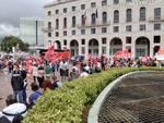 Manifestazione reddito sotto sede Inps