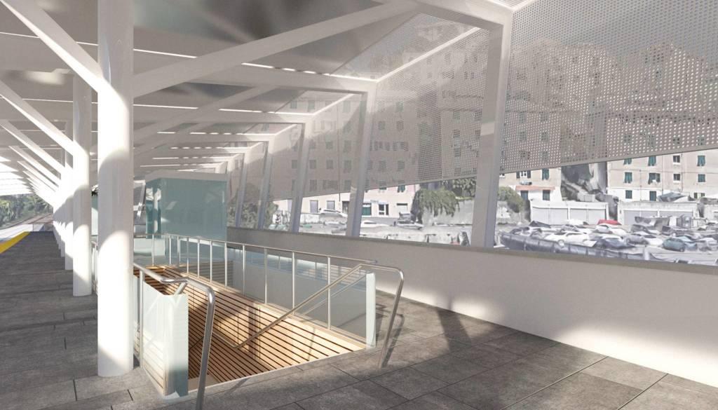 Metropolitana, ecco come sarà la nuova stazione di via Canepari a Certosa