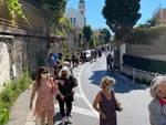 Nervi, la protesta dei cittadini per dire no alla cementificazione