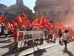 Nuova protesta della ristorazione collettiva a De Ferrari