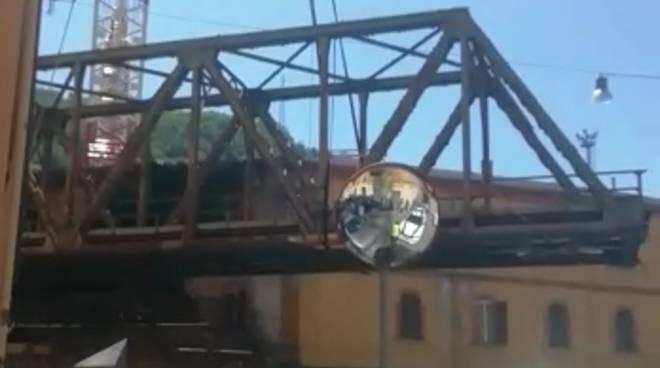 ponte di ferro certosa