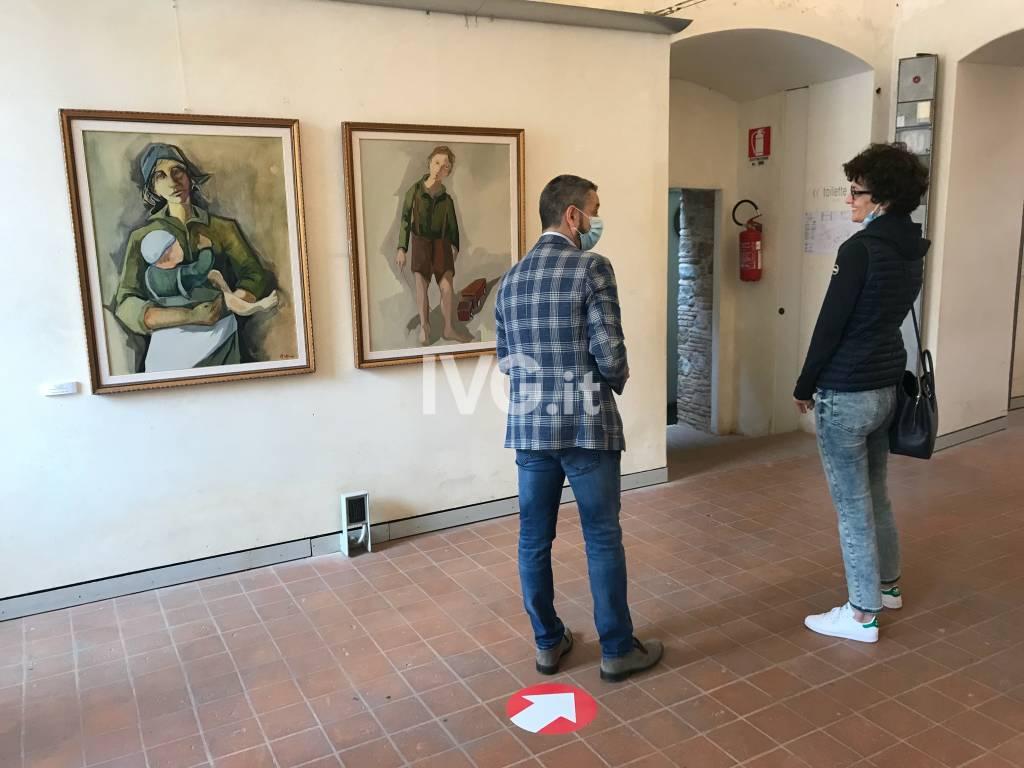 """Presentazione della mostra """"Rino Valido, il cromista"""" al Priamar di Savona"""