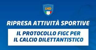 protocollo attuativo per il calcio giovanile e dilettantistico