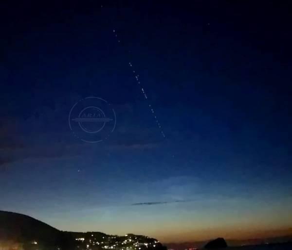 satelliti meteore
