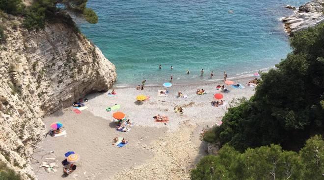 spiaggia non accessibile
