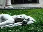 statua finale chiostri