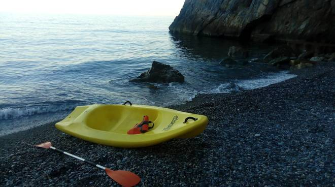 traversata in canoa