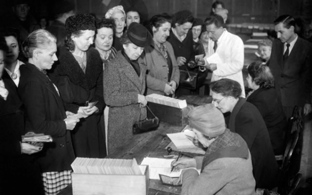 voto donne 1946