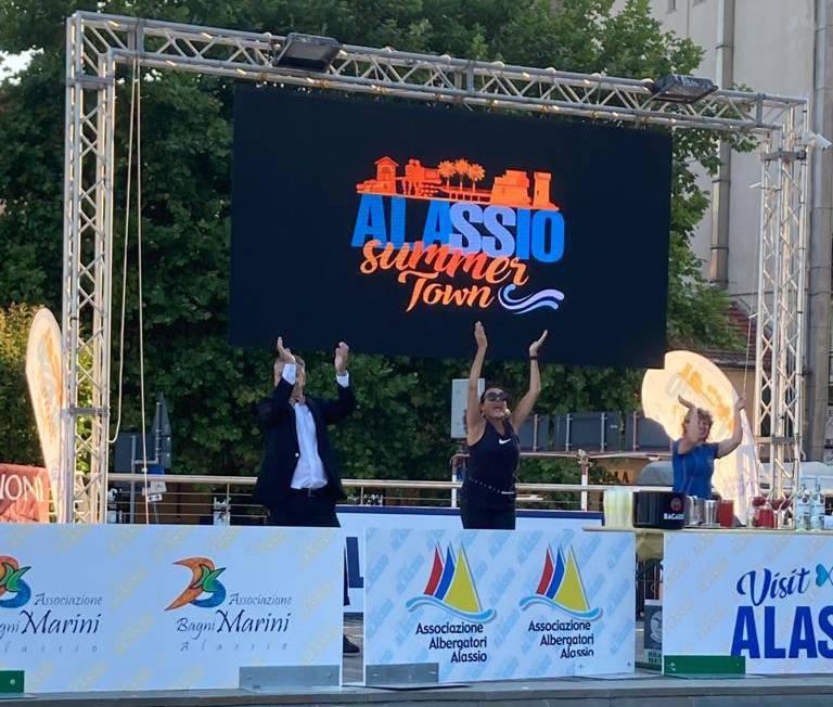 Alassio Summer Town 2020 palco