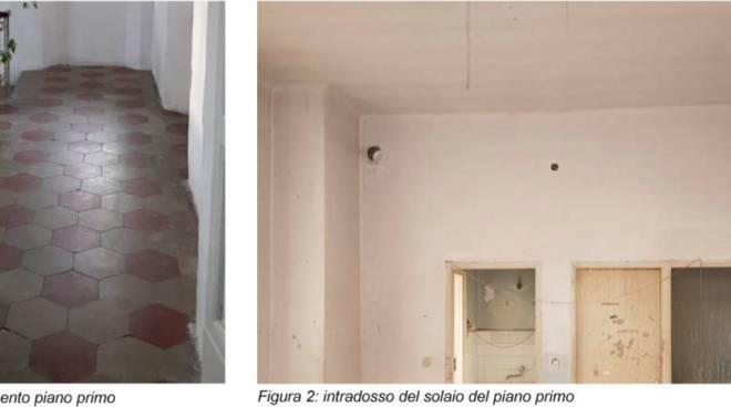 Albenga lavori ristrutturazione ex casa comunale Campochiesa