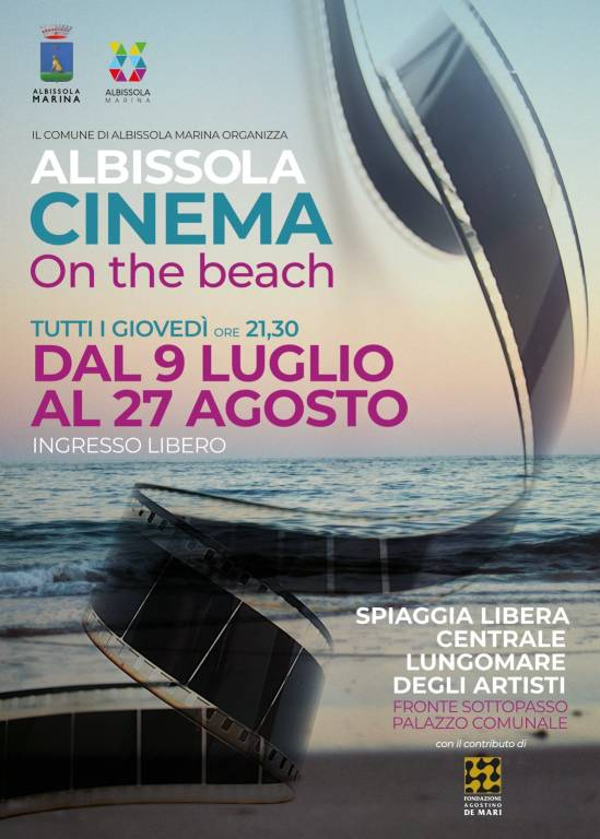 """Albissola Cinema - On the beach"" rassegna 2020"