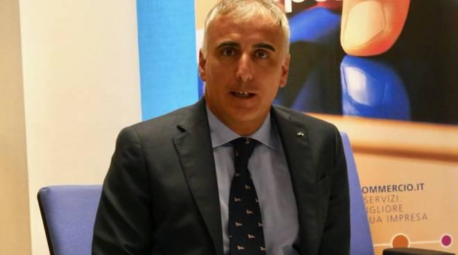 Alessio Berta responsabile area Savona Banca Carige