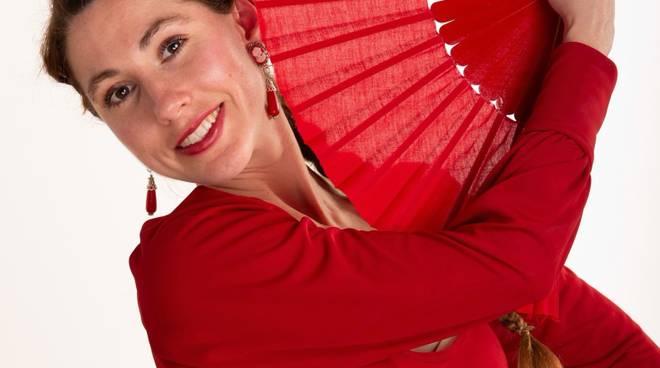 Anna Sinelshchikova ballerina flamenco