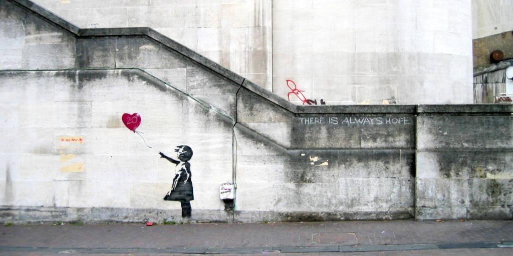 Banksy street artist