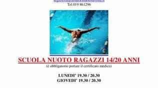 Novità estive all'Amatori Nuoto Savona