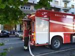 Intervento autobette vigili del fuoco nel Letimbro