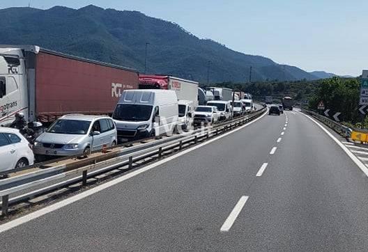 coda autostrada a10 albenga borghetto