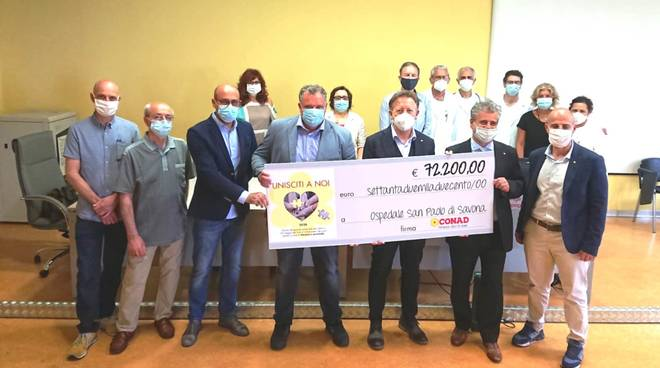 Donazione Conad ospedale San Paolo