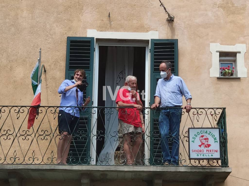 Ferruccio Sansa incontra le Sardine al Museo Casa Pertini