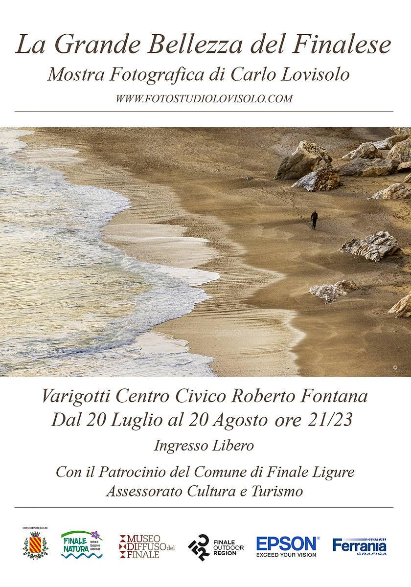 """Finale Ligure """"La grande bellezza del Finalese"""" mostra Carlo Lovisolo"""