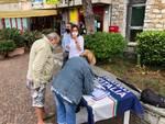 Fratelli d'Italia gazebo Liguria