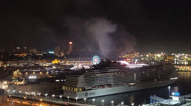 fumo navi porto