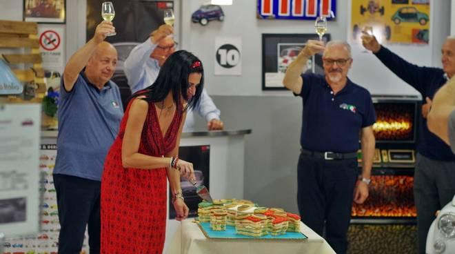 Garlenda festa 63 anni FIAT 500