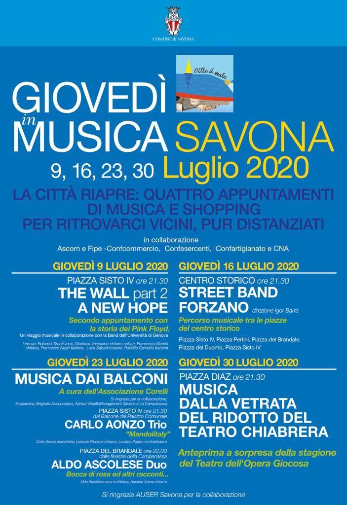 Giovedì Musica Savona
