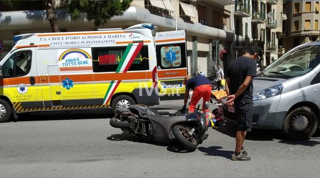 Incidente Corso Tardy Benech Savona