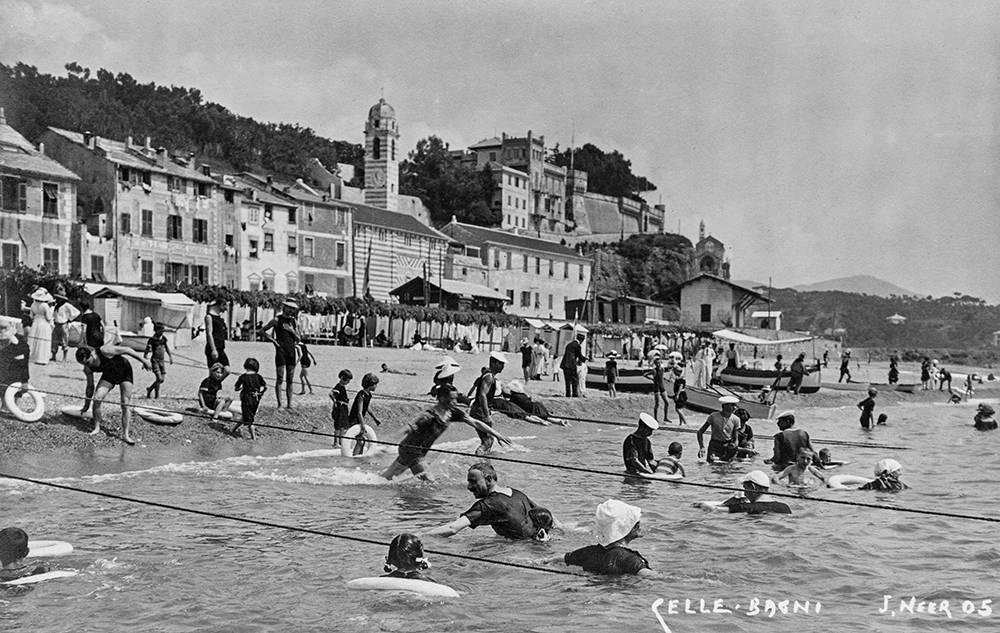 Tranquillamente al Mare Celle Ligure 1905-1920