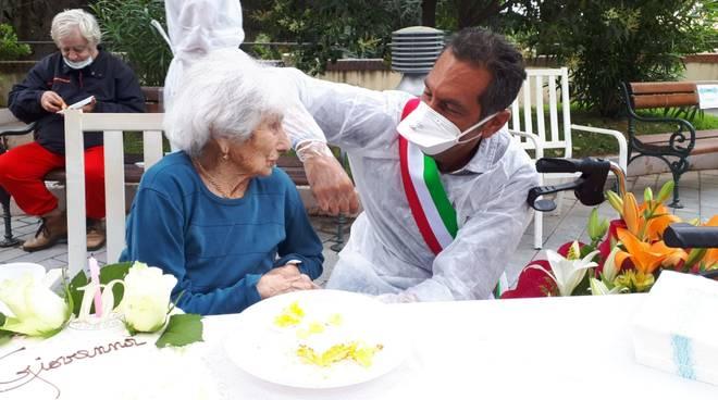 Giovanna Pastorino 100 anni roberto arboscello
