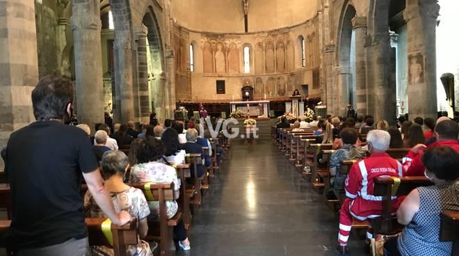 I funerali di Flavio Balbi ad Albenga