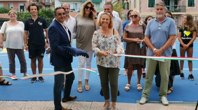 Inaugurazione nuovo campo sportivo Alassio
