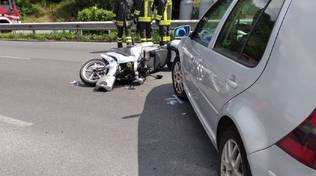 incidente scooter Cairo Montenotte