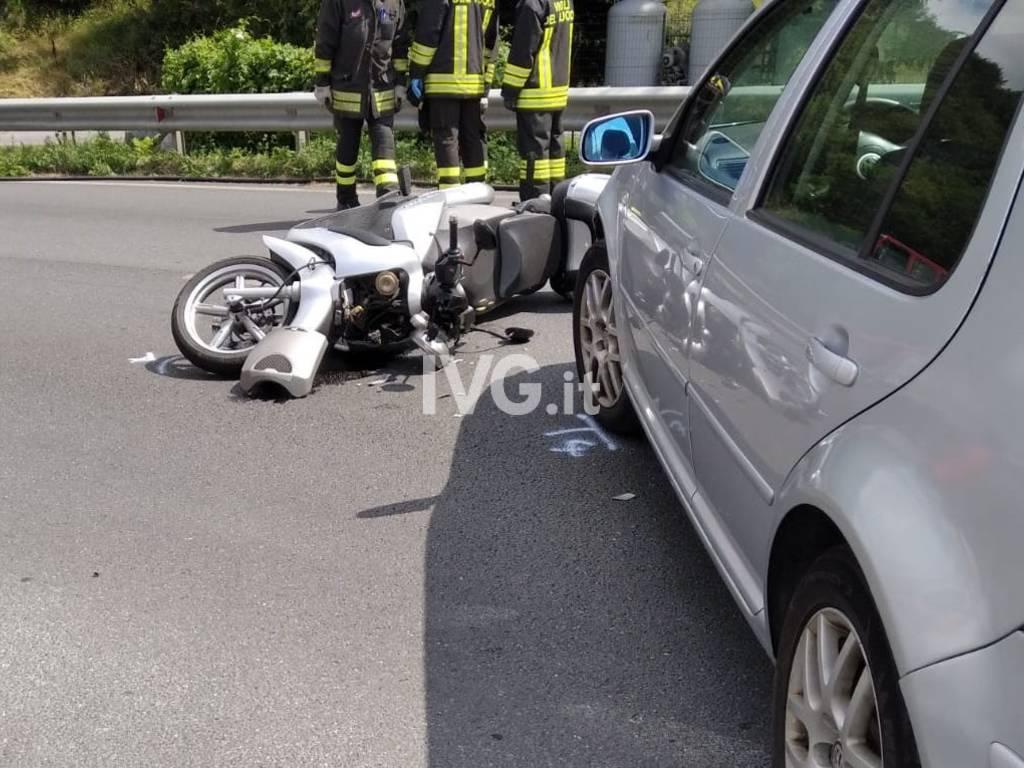 incidente scooter Cairo Montenotte