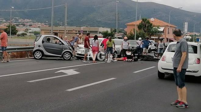 Incidente stradale a Ceriale
