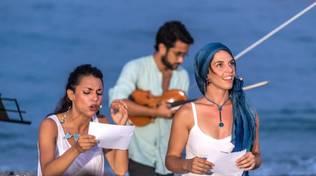"""""""L'ora blu"""" spettacolo teatraleChiaraTessioree Sara Zanobbio"""