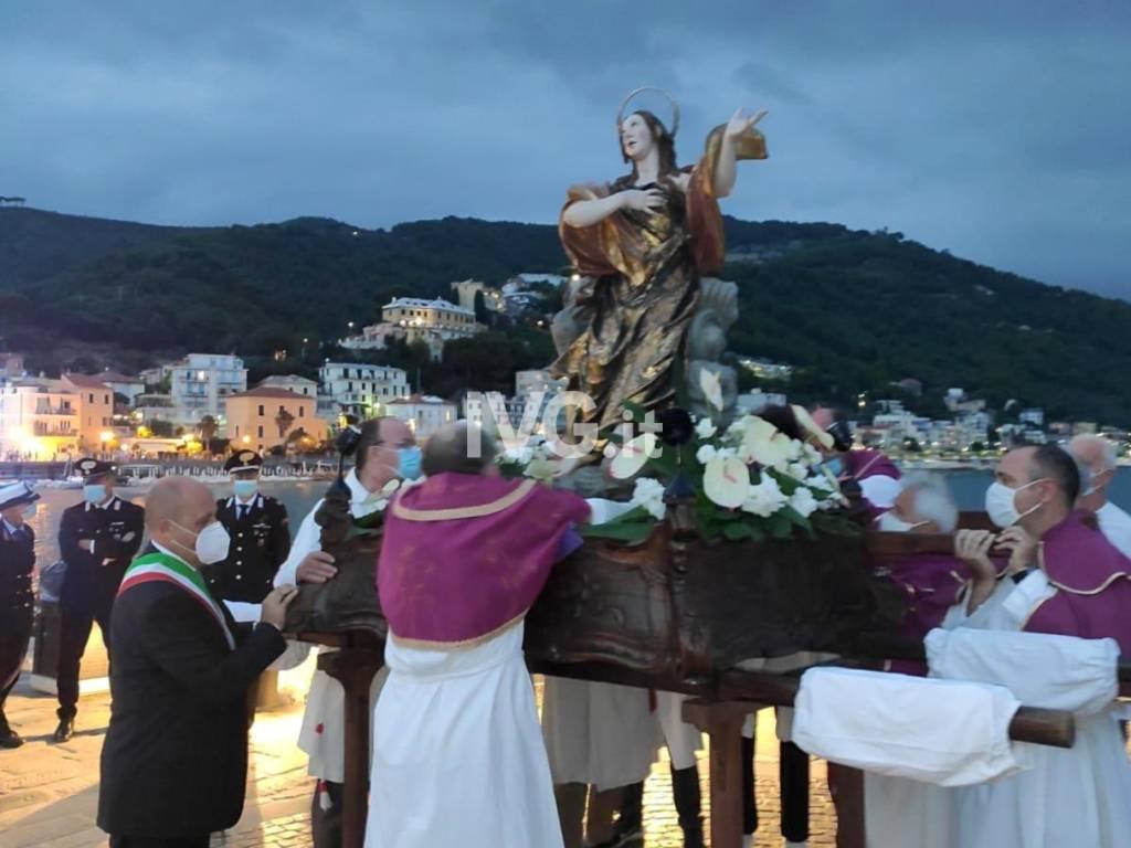Laigueglia, celebrata la festa in onore di santa Maria Maddalena