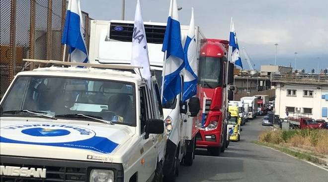 Liguria Trasportounito protesta mobilitazione sciopero