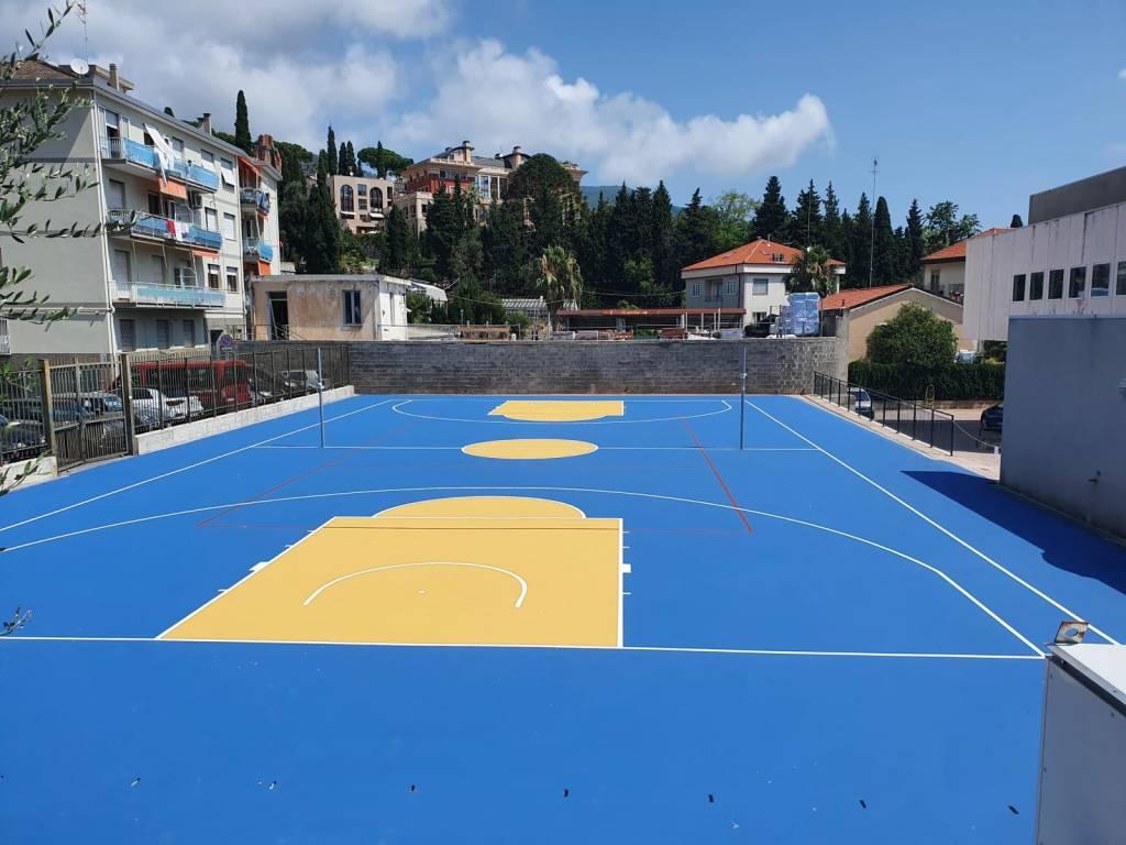 Nuovo campo sportivo Alassio