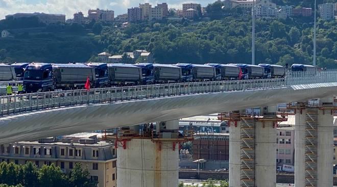 Ponte Genova San Giorgio, l'inaugurazione oggi alle 18.30