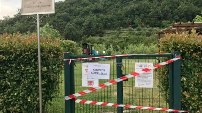Parco Baden Powel Tovo chiusura