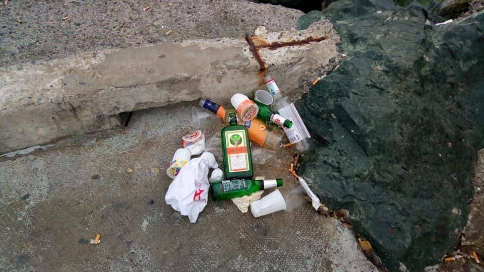Pegli, pulizia litorale
