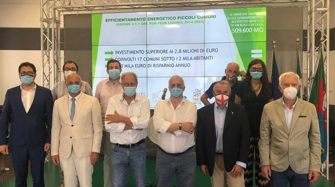 Regione Liguria presentazione risultati bando efficientamento energetico