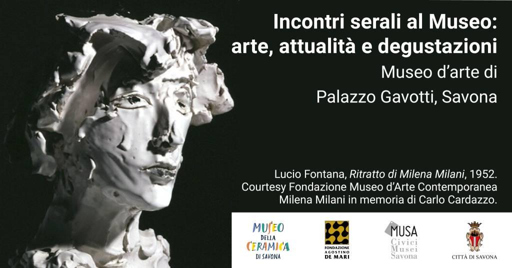 Savona Museo d'Arte Palazzo Gavotti incontri serali estate 2020