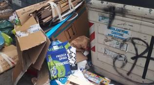 Savona, rifiuti abbandonati nel quartiere Villapiana