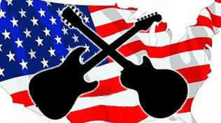 Stati Uniti bandiera musica americana