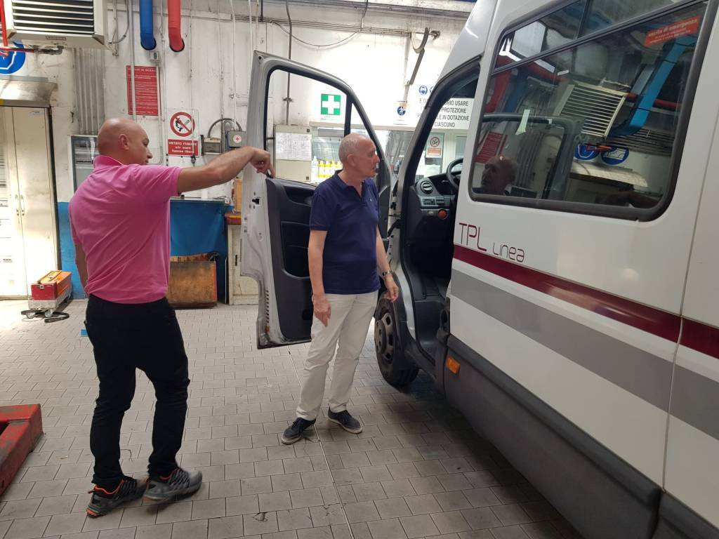 TPL Linea nuove paratie protezione autisti